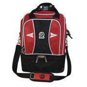 2 Bowl Double Decker Sports Bag - Red